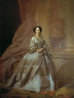 Макаров И. К. Портрет императрицы Марии Александровны, жены Александра II