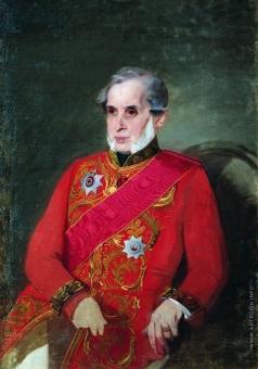 Макаров И. К. Портрет князя А.В. (?) Кочубея