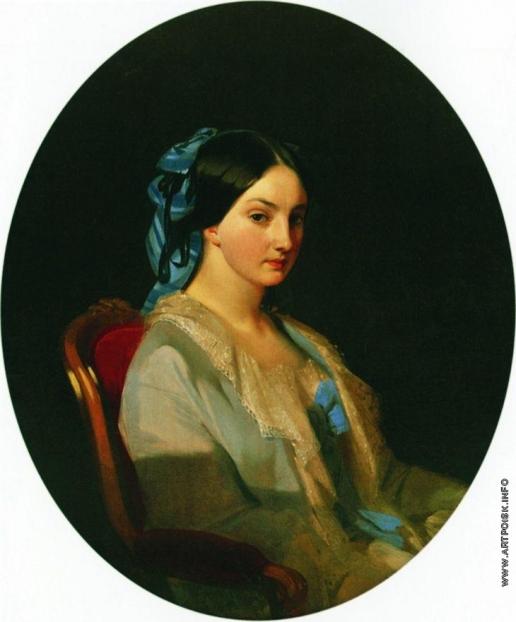 Макаров И. К. Портрет молодой женщины