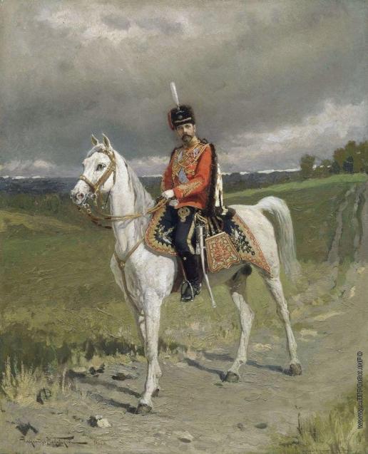 Маковский А. В. Император Николай II