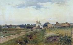 Маковский А. В. Пейзаж с церковью