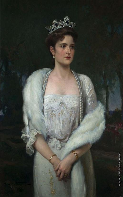 Маковский А. В. Портрет императрицы Александры Федоровны