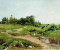 Маковский А. В. Сельский пейзаж