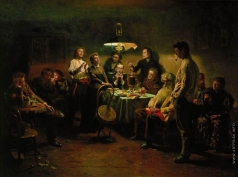 Маковский В. Е. Вечеринка. 1875-