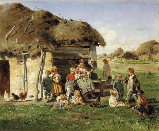 Маковский В. Е. Крестьянские дети