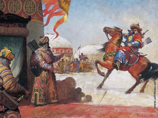 Абдулов И. А. Вестник войны