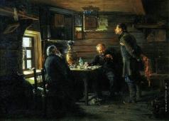 Маковский В. Е. Любители соловьев. 1872-