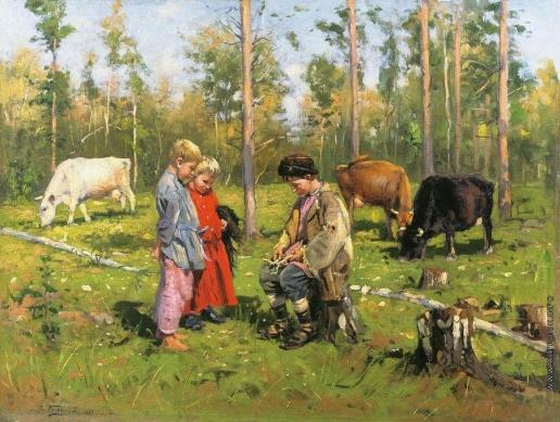 Маковский В. Е. Пастушки. 1903-