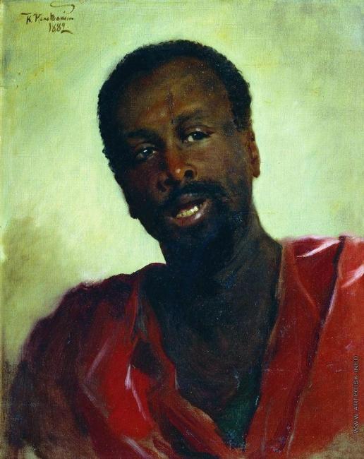 Маковский К. Е. Африканец
