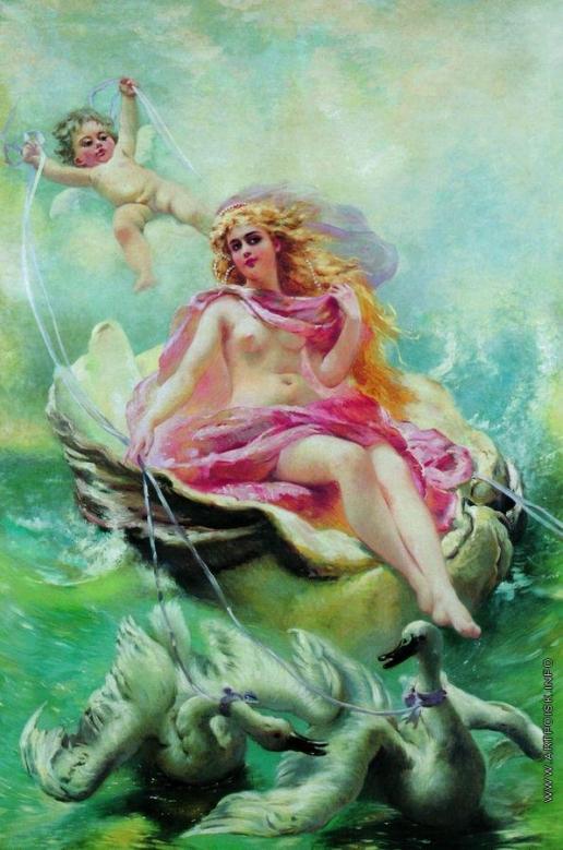 Маковский К. Е. Богиня вод