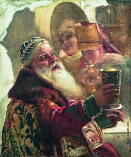 Маковский К. Е. Боярин с кубком
