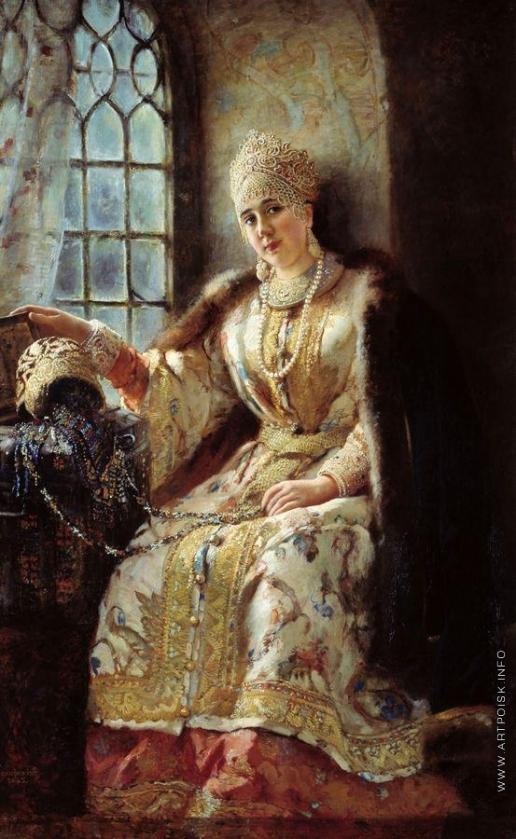 Маковский К. Е. Боярыня у окна