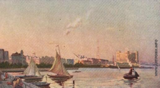 Абдурахманов Н. Г. Вид города Баку