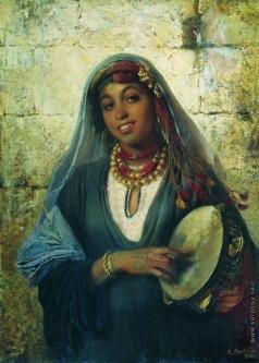 Маковский К. Е. Восточная женщина (Цыганка)