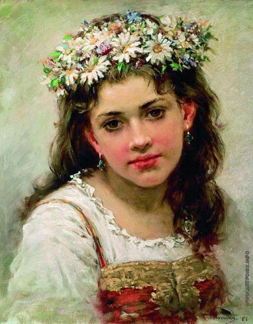 Маковский К. Е. Головка девочки