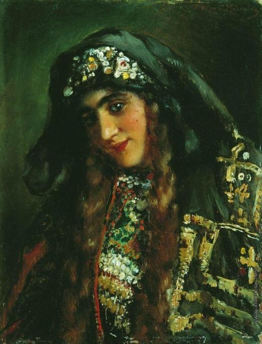 Маковский К. Е. Девушка в восточном костюме
