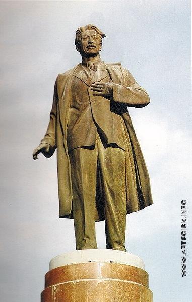 Абдурахманов Ф. Г. Памятник писателю С. Вургуну. Баку