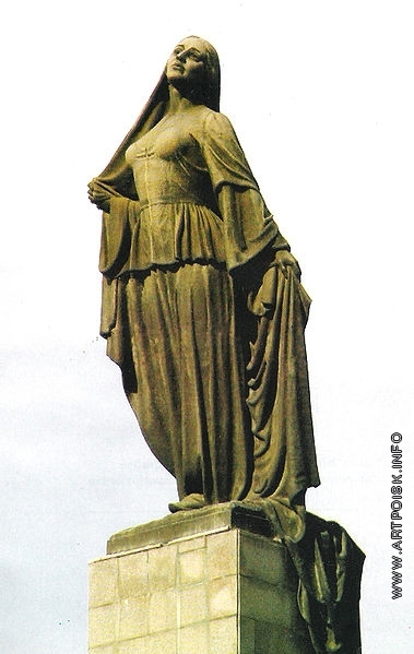 Абдурахманов Ф. Г. Монумент в Баку «Азад гадын»(«Освобождение»)