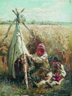 Маковский К. Е. Дети в поле
