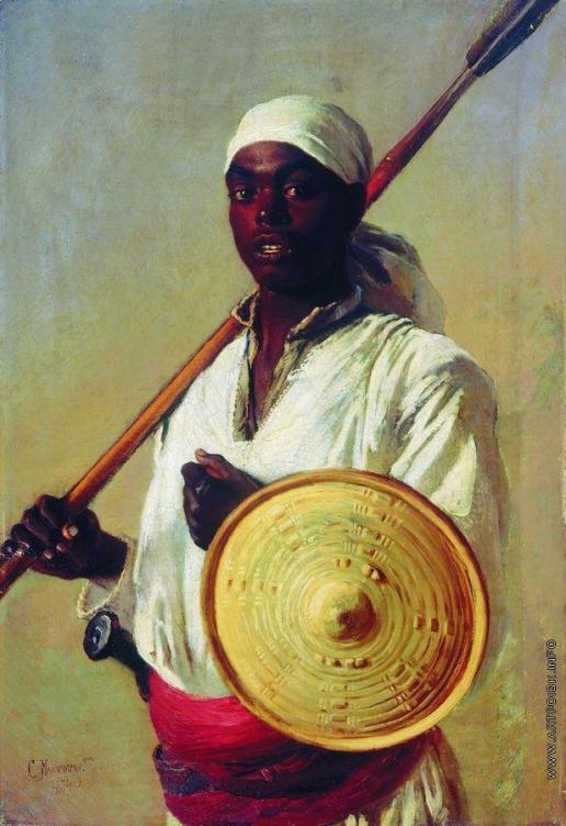 Маковский К. Е. Египетский воин