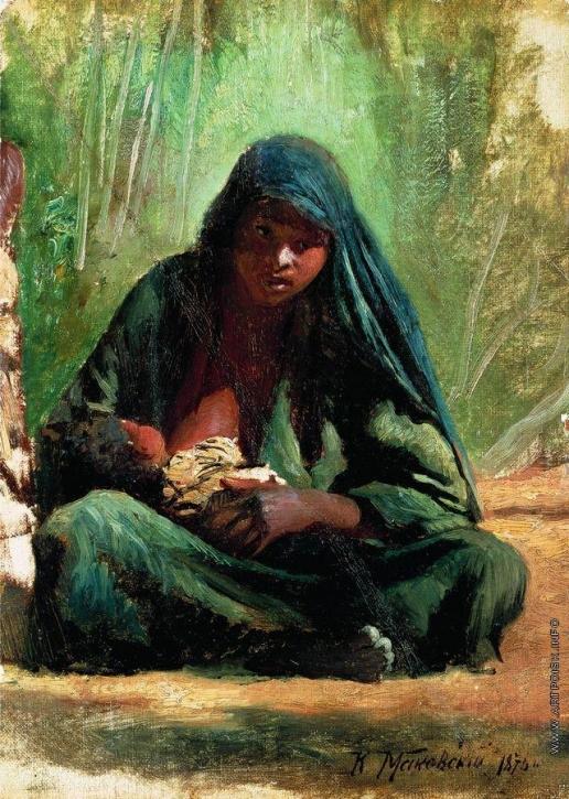 Маковский К. Е. Египтянка с ребенком
