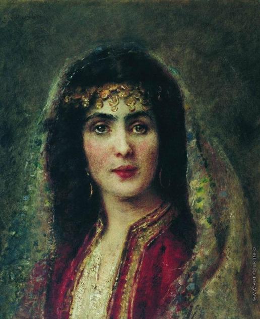 Маковский К. Е. Женский портрет