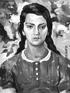 Абегян М. М. Портрет Зои Петросян