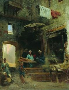 Маковский К. Е. Каирский двор