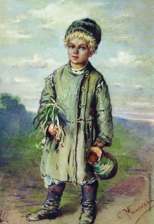 Маковский К. Е. Крестьянский мальчик