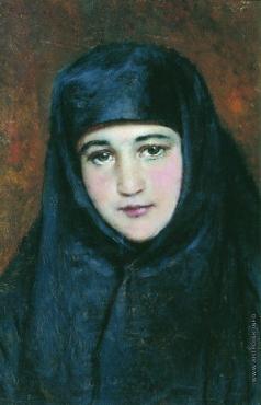 Маковский К. Е. Молодая монахиня