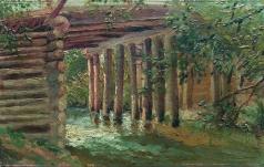 Маковский К. Е. Мост через речку
