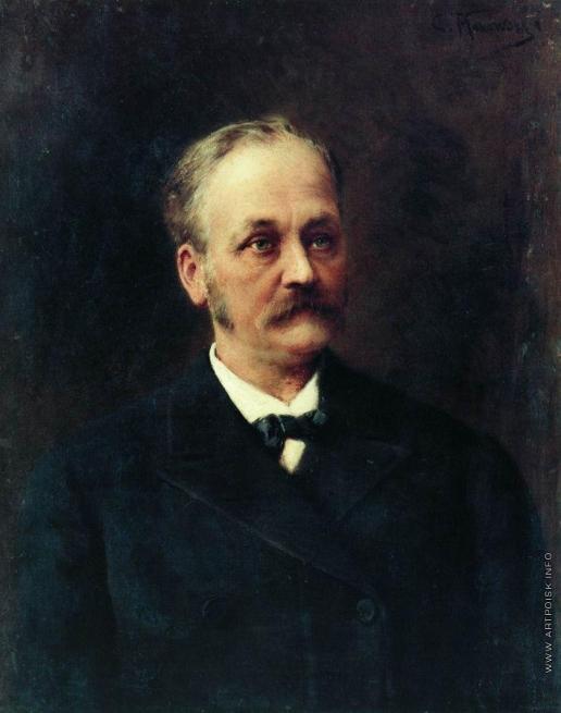 Маковский К. Е. Мужской портрет