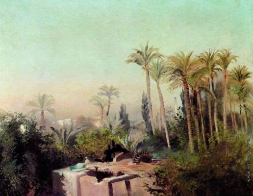 Маковский К. Е. Оросительная система в Египте