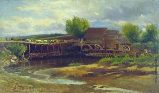 Маковский К. Е. Пейзаж с озером