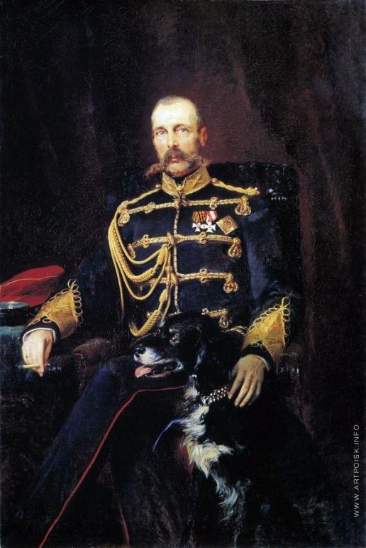 Маковский К. Е. Портрет Александра II
