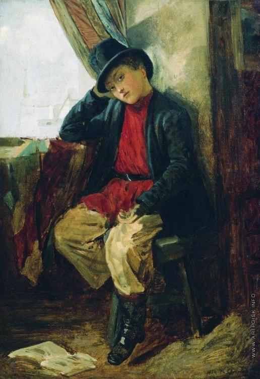 Маковский К. Е. Портрет Владимира Егоровича Маковского в детстве