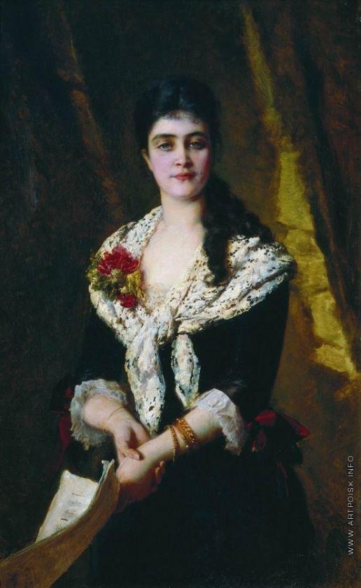 Маковский К. Е. Портрет Панаевой-Карцевой