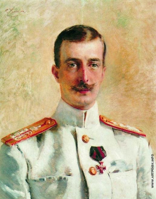 Маковский К. Е. Портрет великого князя Кирилла Владимировича, старшего сына великого князя Владимира Александровича, брата императора Александра III