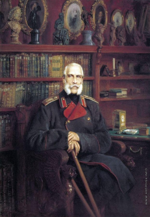 Маковский К. Е. Портрет графа Сергея Григорьевича Строганова