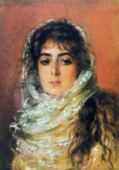 Маковский К. Е. Портрет жены художника Ю.П.Маковской