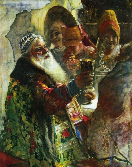 Маковский К. Е. Портрет князя П.П. Вяземского