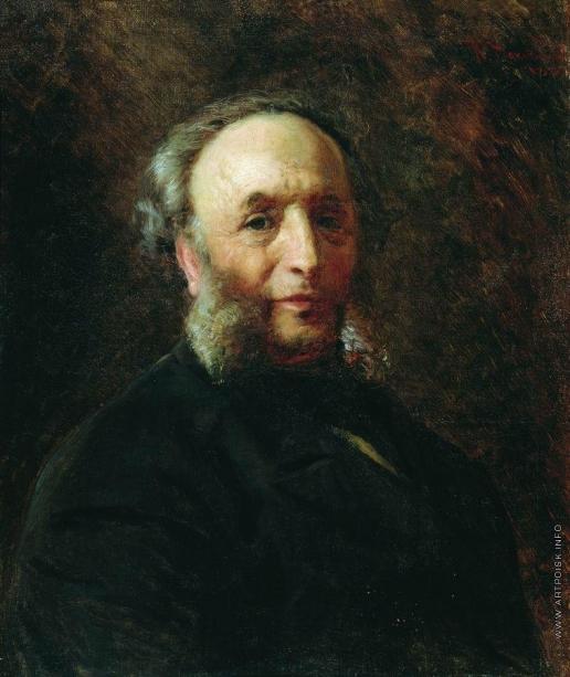 Маковский К. Е. Портрет художника И.К.Айвазовского