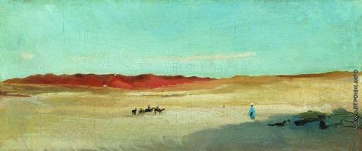 Маковский К. Е. Пустыня