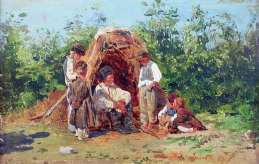 Маковский К. Е. Рассказы деда
