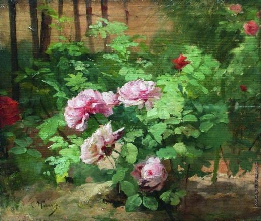 Маковский К. Е. Розы