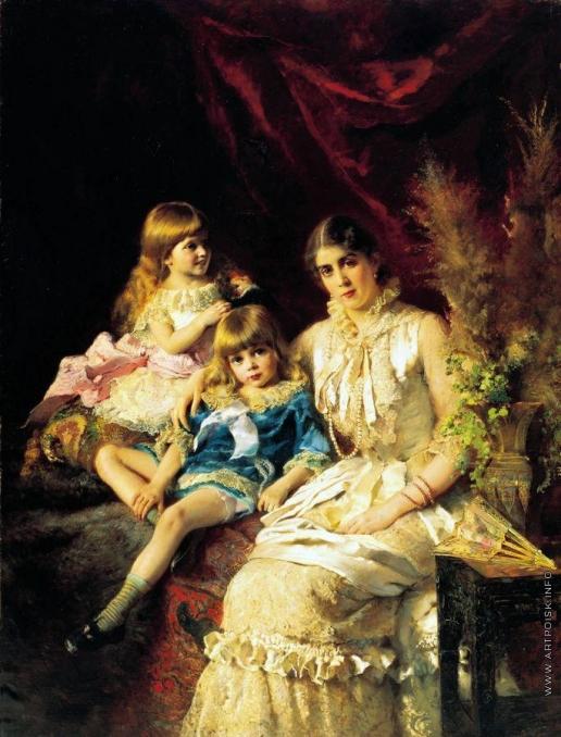 Маковский К. Е. Семейный портрет