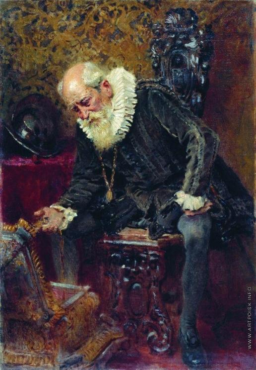 Маковский К. Е. Скупой рыцарь