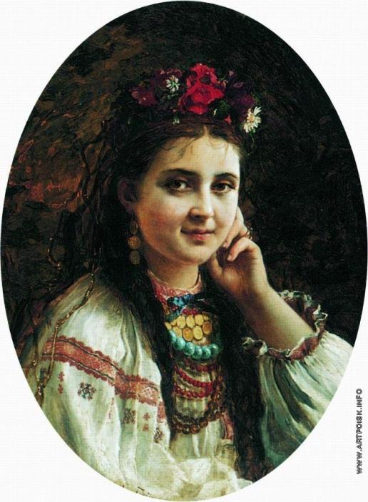 Маковский К. Е. Украинка