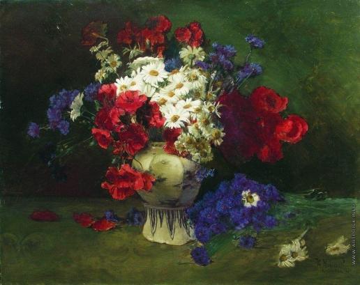 Маковский К. Е. Цветы