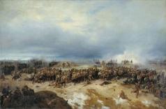 Максутов В. Н. Сражение при Четати 25 декабря 1852 года